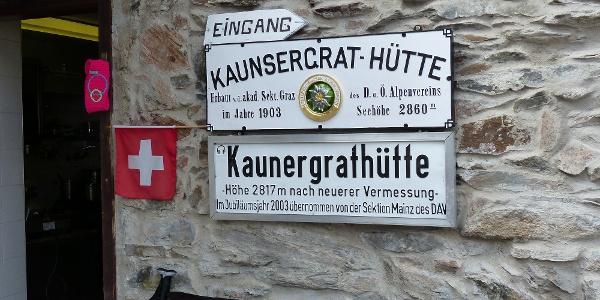 Kaunsergrat-Hütte