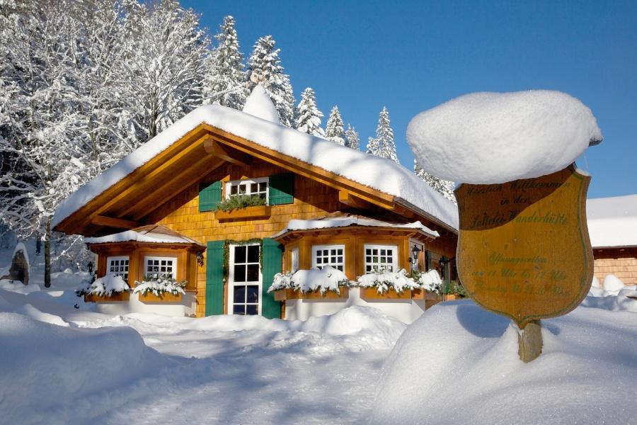 Zur Wanderhütte Sattelei und rund um den Rinkenberg