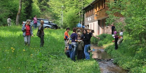 Familienspaß an der Wolfsschluchthütte