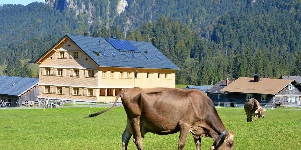 Das Jagdgasthaus Egender im Vorsäß Schönenbach