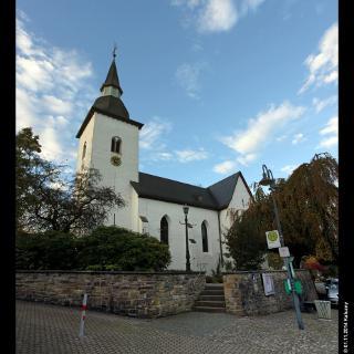 evangelische Kirche in Marienberghausen, Bergisches Land,  NRW,  Deutschland