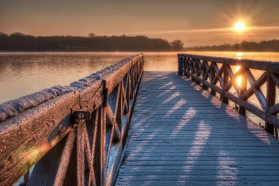 Ruppiner See Winterstimmung