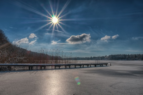 Molchowsee im Winter