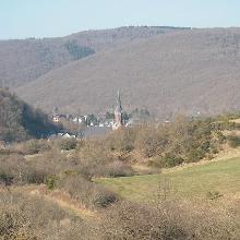 Blick auf Gemünd/Eifel