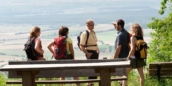 Aussicht vom Schwanberg