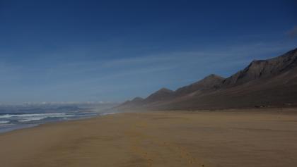 Am Strand von Cofete