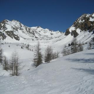 Das Granitzlkar;  die Zechnerkarspitze ist im Bildhintergrund