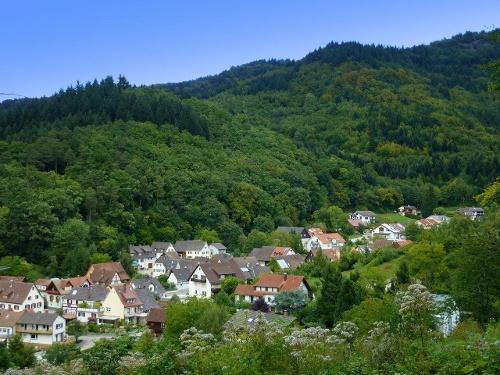 ''Schweighof/Weilertal Rundweg'' hell Blaue Route