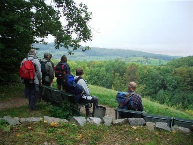 ''Sehringer Rundweg'' violette Route