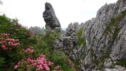 Felsformationen an der Grigna Meridionale