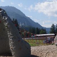 Kletterfelsen am Bergsportzentrum Tegelberg