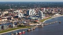 Weser-Radweg, 13. Etappe: Von Schwanewede über Bremerhaven nach Nordenham - Alternativroute