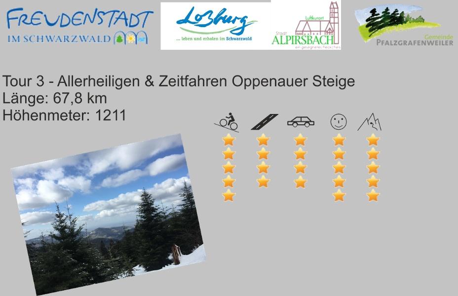 Freudenstadt RR Tour 2 Allerheiligen & Zeitfahren Oppenauer Steige