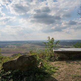 Panoramabild am Steinbruch