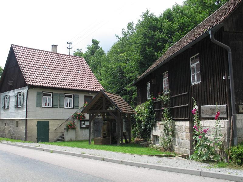 Außenansicht Marhördter Sägemühlmuseum   - © Quelle: Gemeinde Oberrot