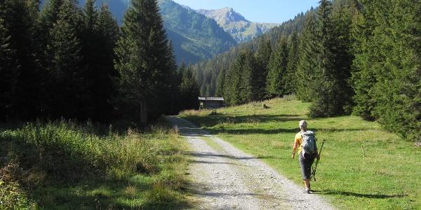 Eintritt ins Hollbrucker Tal