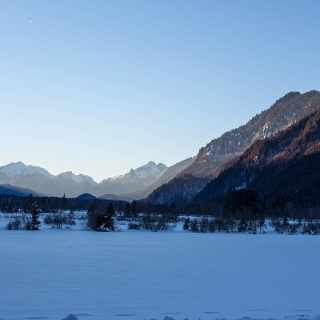 Winterwanderung - Weidmoos