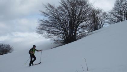 Am Aufstieg zum Monte Rapina