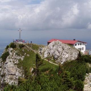 Gipfel des Hochfellns