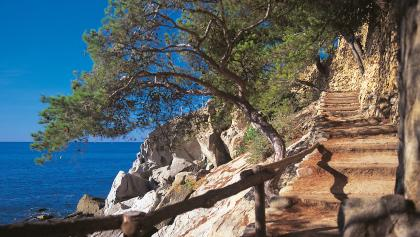 Wandern in der Region Katalonien