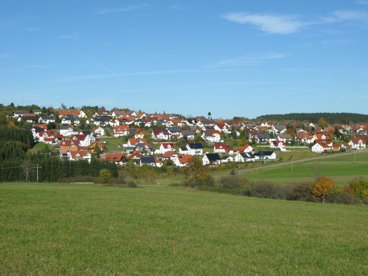 Aussicht auf Hartheim