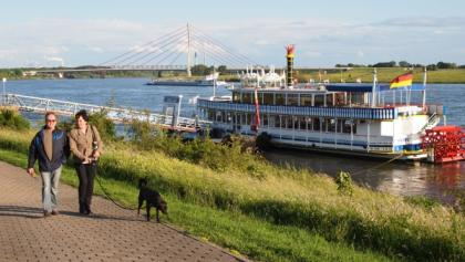 Rheinpromenade Wesel