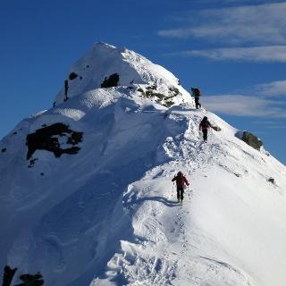 Exponierter Gipfel mit Panoramagarantie