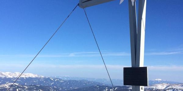 Gipfelkreuz 2.315 hm