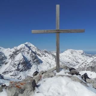 Gipfelkreuz, Gsuchmauer, 2.116 m