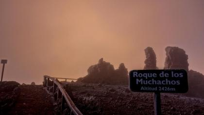 Morgenstimmung am Gipfelplateau