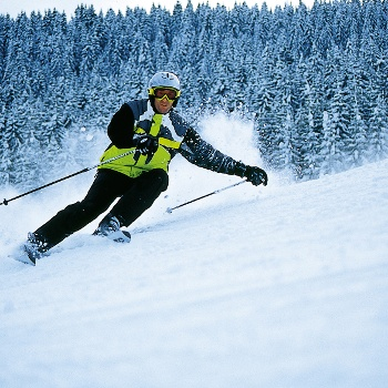 Skifahrer Schwarzwald