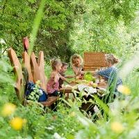 Picknick auf dem Liebesbankweg