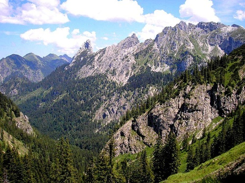Hut hiking tour - hut week Ammergau Alps (5th stage of 6)