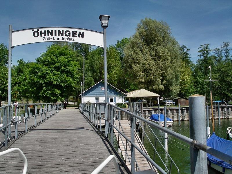 Rund um das Bodenseeende - Wanderung am westlichen Bodensee von Öhningen (D) zur Insel Werd (CH) und zurück