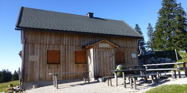 Die Brachalm - neue Halterhütte