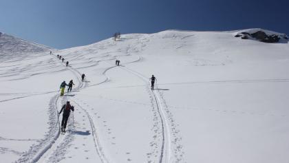 Sattel südlich des Penkkopf-Gipfels