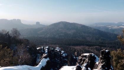 Gipfel stiege/Affensteine