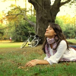 Entspannung im Kromlauer Park