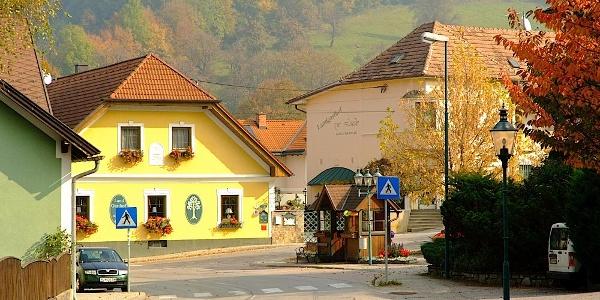 Brand Laaben Hauptplatz