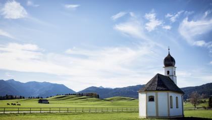 Ausblick bei Rosenheim