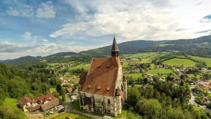 Die Wolfgangskirche in Kirchberg am Wechsel