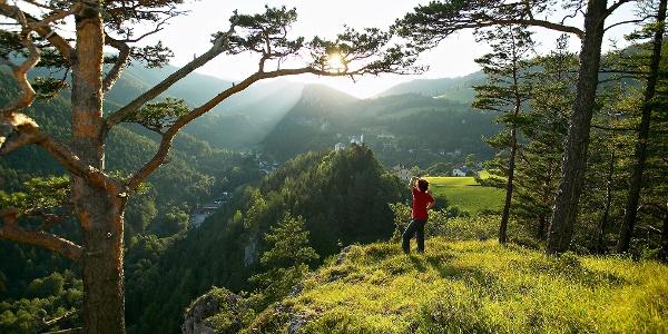 Ausblick von Breitenstein