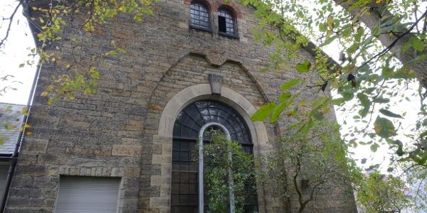 Rundbogenfenster Pumpenhaus Nienstädt