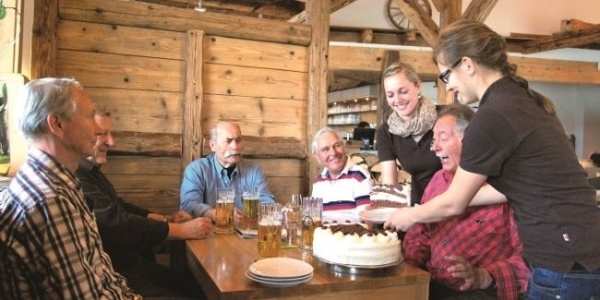 Im Café der Naturpark-Marktscheune
