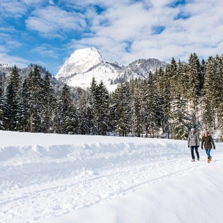 Winterwandern vorm Wilden Kaiser