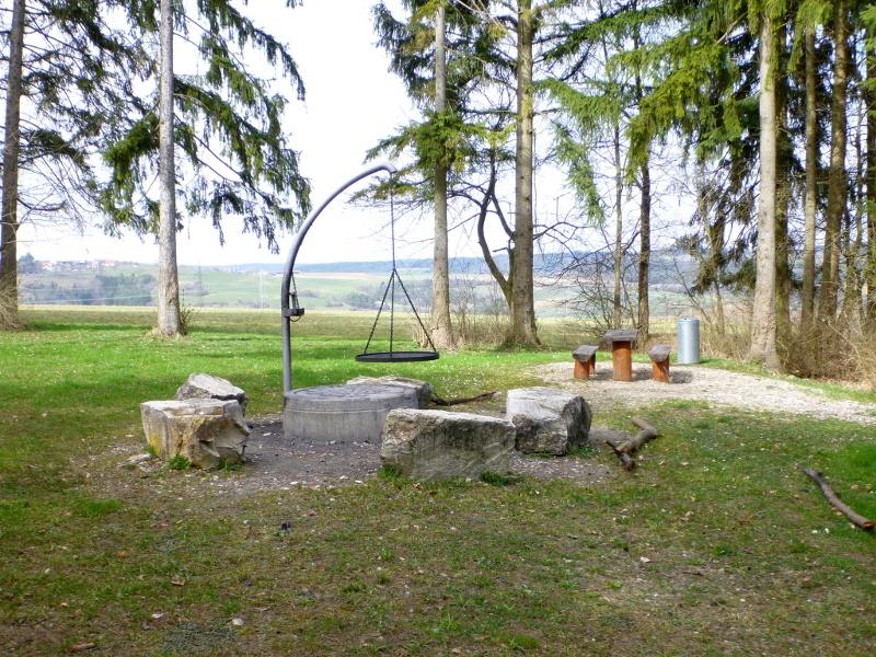 Grillplatz im Fanzosenwäldle