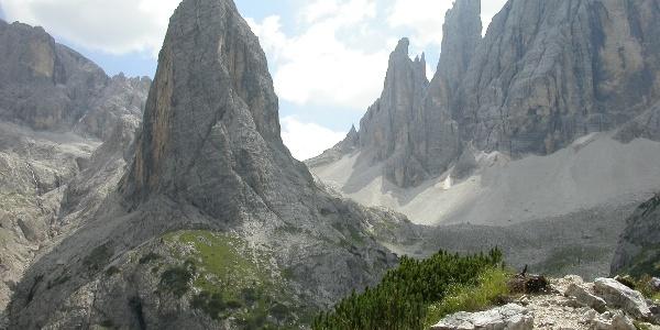 Aufstieg zur Zsigmondy-Hütte (2224 m)