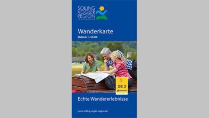 Wanderkarte Solling-Vogler-Region