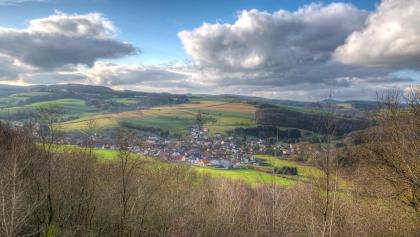 Blick auf Herschweiler-Pettersheim
