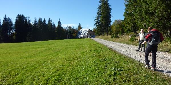 Naturfreundehaus Knofeleben, Wiese